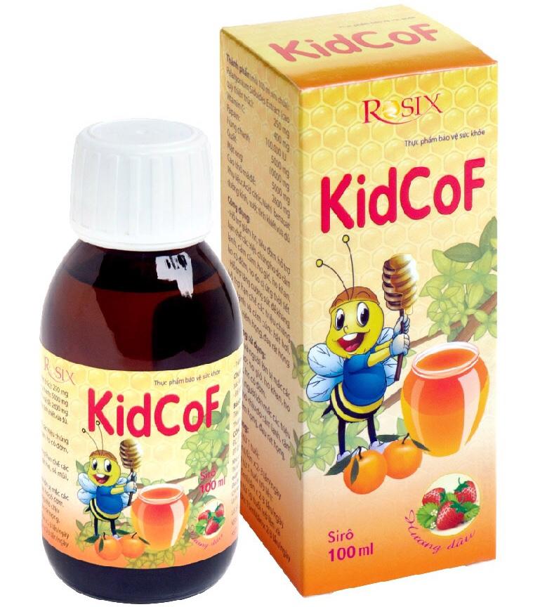 KidCoF - Giảm ho, tiêu đờm, cảm cúm, cảm lạnh