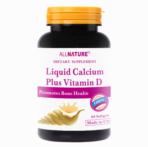 Liquid calcium plus vitamin D