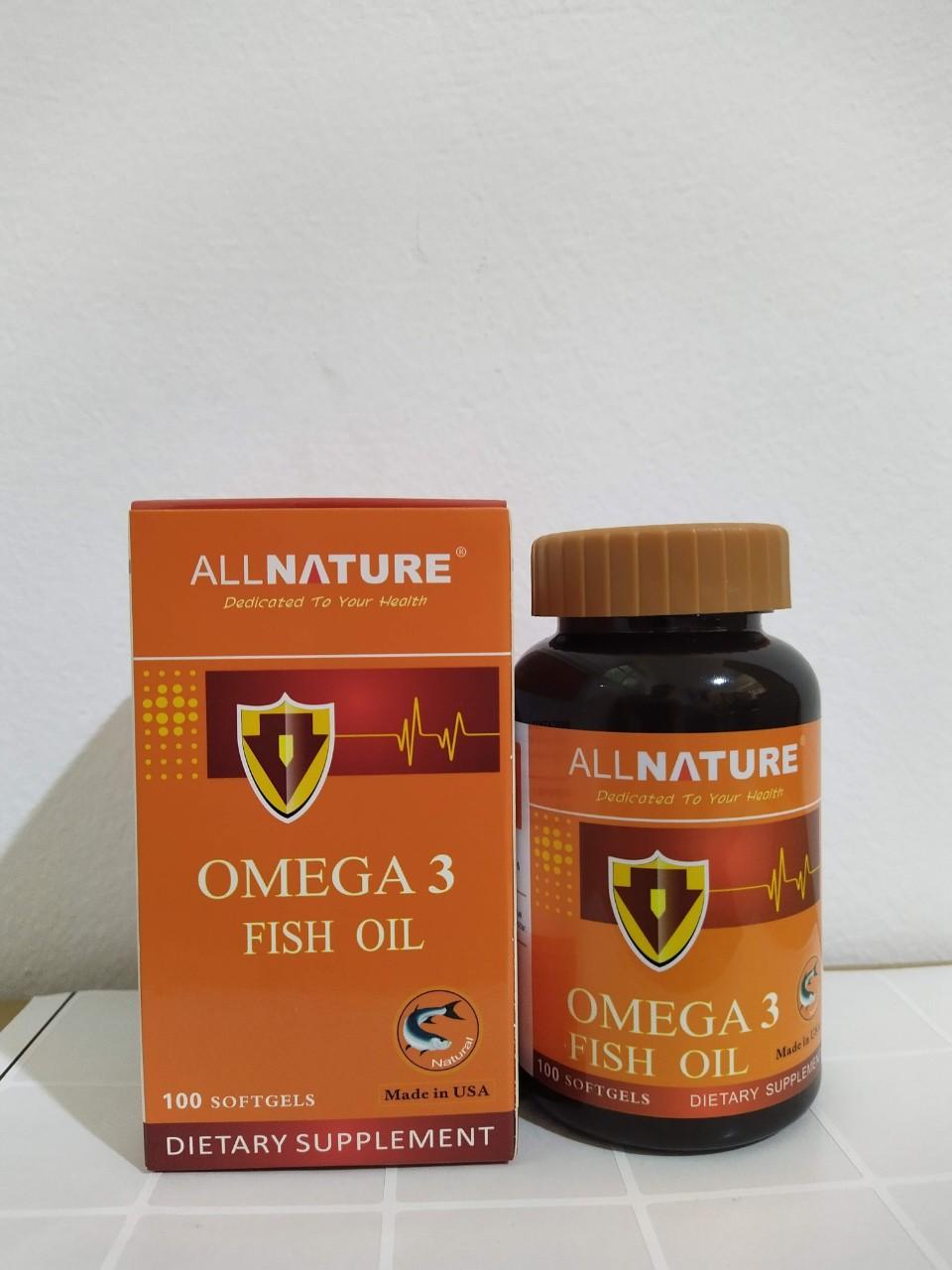 Super Omega 3 fish oil - Phòng ngừa các bệnh tim mạch, huyết áp, giúp sáng mắt